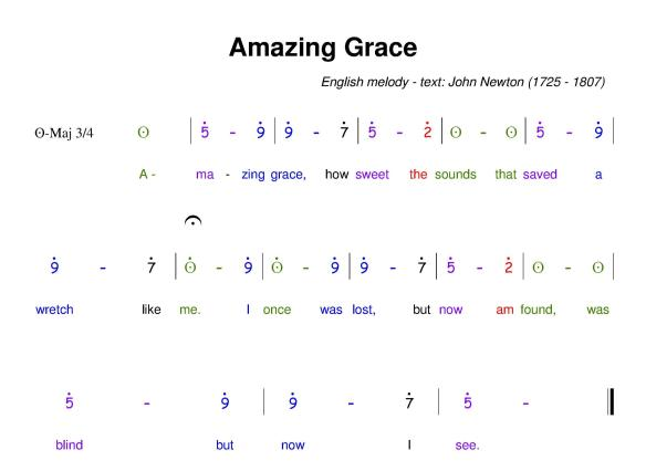Amazing grace - HMN