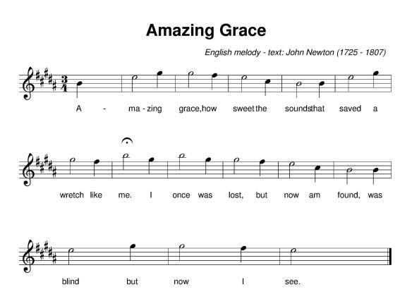 Amazing grace-standard